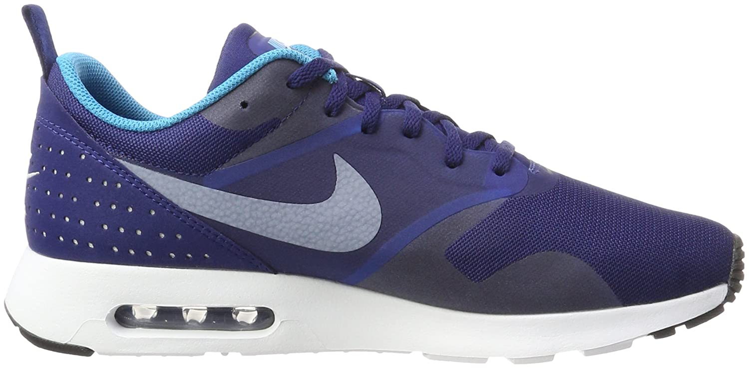 save off f8b9d a58bb Nike Men s Air Max Tavas Loyal Blue, White, Bl Lagoon and Blk Running Shoes  -11 UK India (46 EU)(12 US)  Buy Online at Low Prices in India - Amazon.in