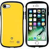 iPhone7 ケース カバー iFace First Class ストラップホール付き 正規品 / イエロー