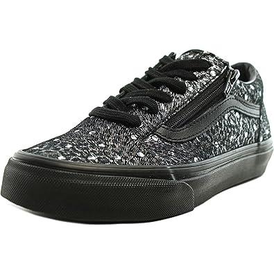 Vans Womens Old Skool Zip Black