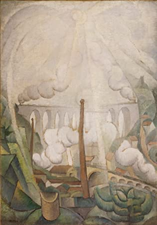 Diego Rivera At the Fountain of Toledo Giclee Canvas Print Paintings Poster Repr