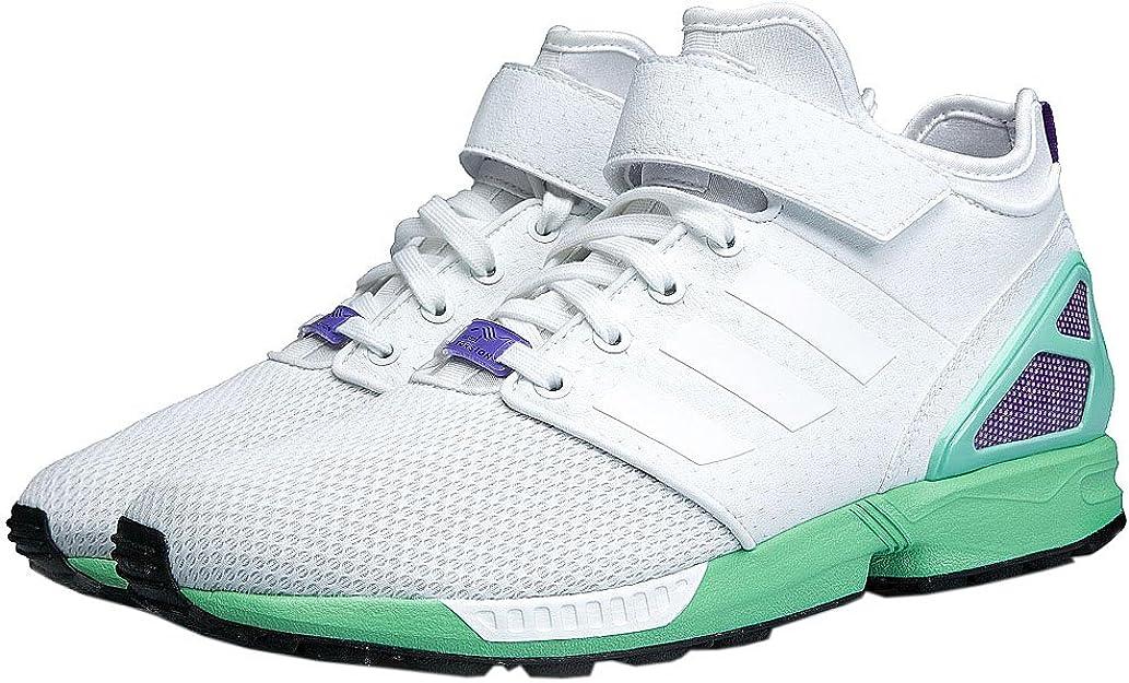 adidas Originals ZX Flux NPS Mid Femmes Sneaker Blanc Chaussures Femme Baskets Top