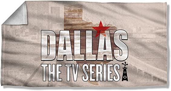 Dallas - Logo Beach Towel 57 x 36in