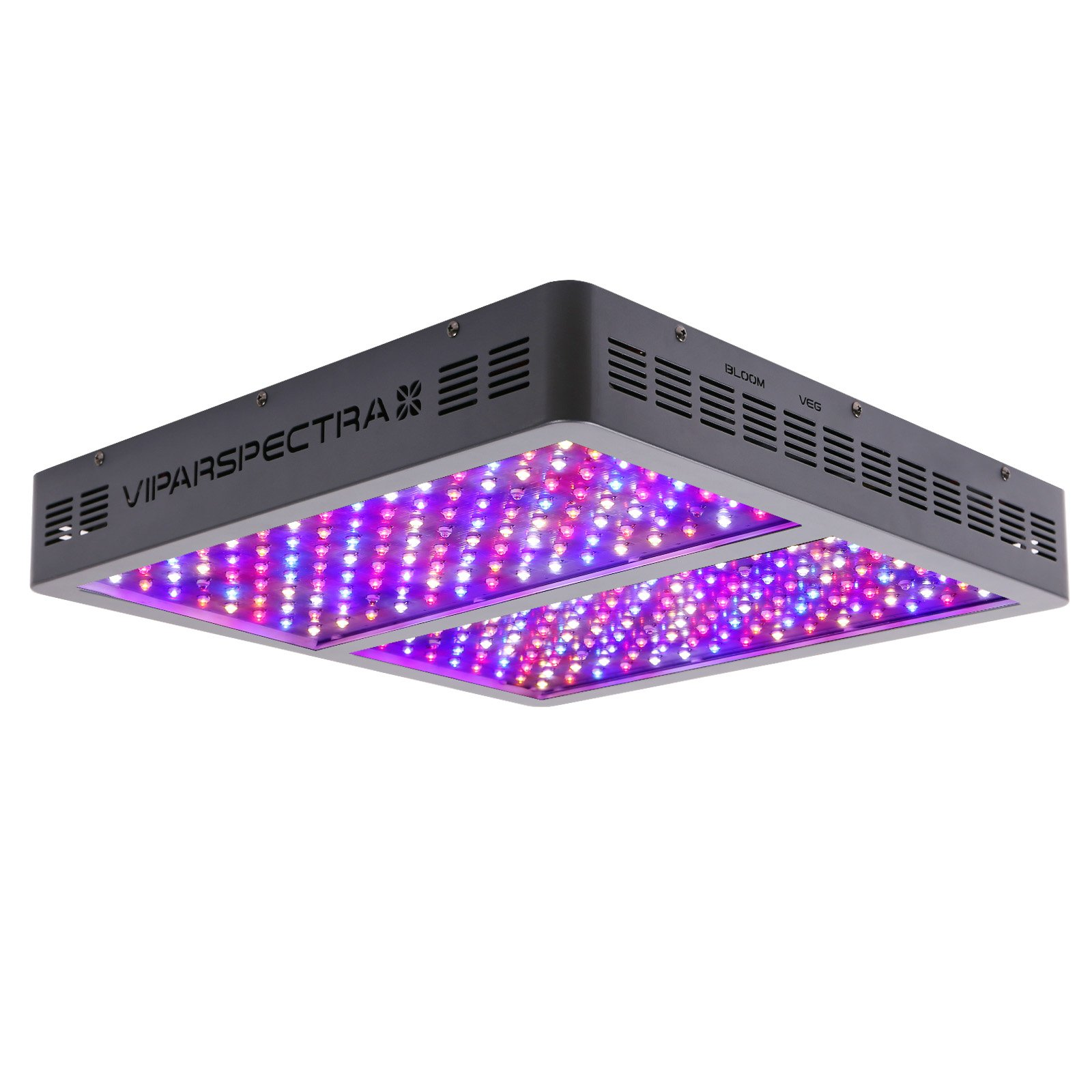 VIPARSPECTRA 1200W LED Grow Light Full Spectrum for Indoor Plants Veg and Flower by VIPARSPECTRA
