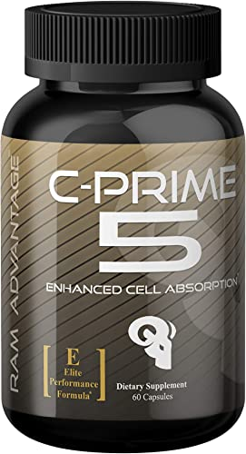 C-Prime 5 by RAM ADVANTAGE Nutrient Partitioner for Lean Muscle Growth Increase Muscle Tone and Vascularity 60 ct