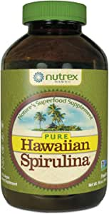 Pure Hawaiian Spirulina - Powder 16 Ounce - Farm Grown in Hawaii since 1984 - Natural, Nutrient Rich Superfood - Immune Support, Detox & Energy – Vegan Complete Protein, Non-GMO