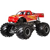 Hot Wheels Monster Trucks Racing die-cast 1:24 Scale Vehicle with Giant Wheels for Kids Age 3 to 8 Years Old Great Gift…