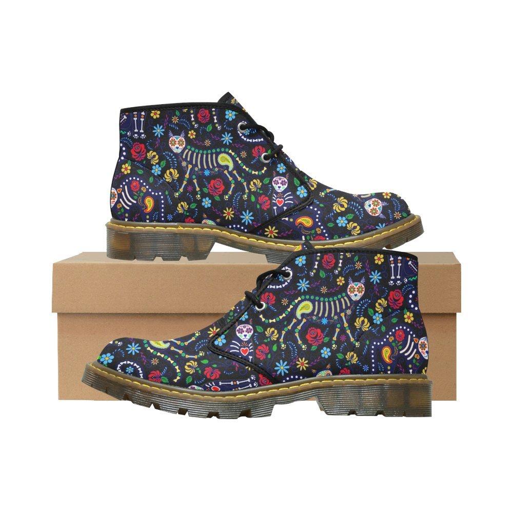 Artsadd Unique Debora Custom Women's Nubuck Chukka Boots Ankle Short Booties B0795PHPRK 7.5 B(M) US|Multicolored2