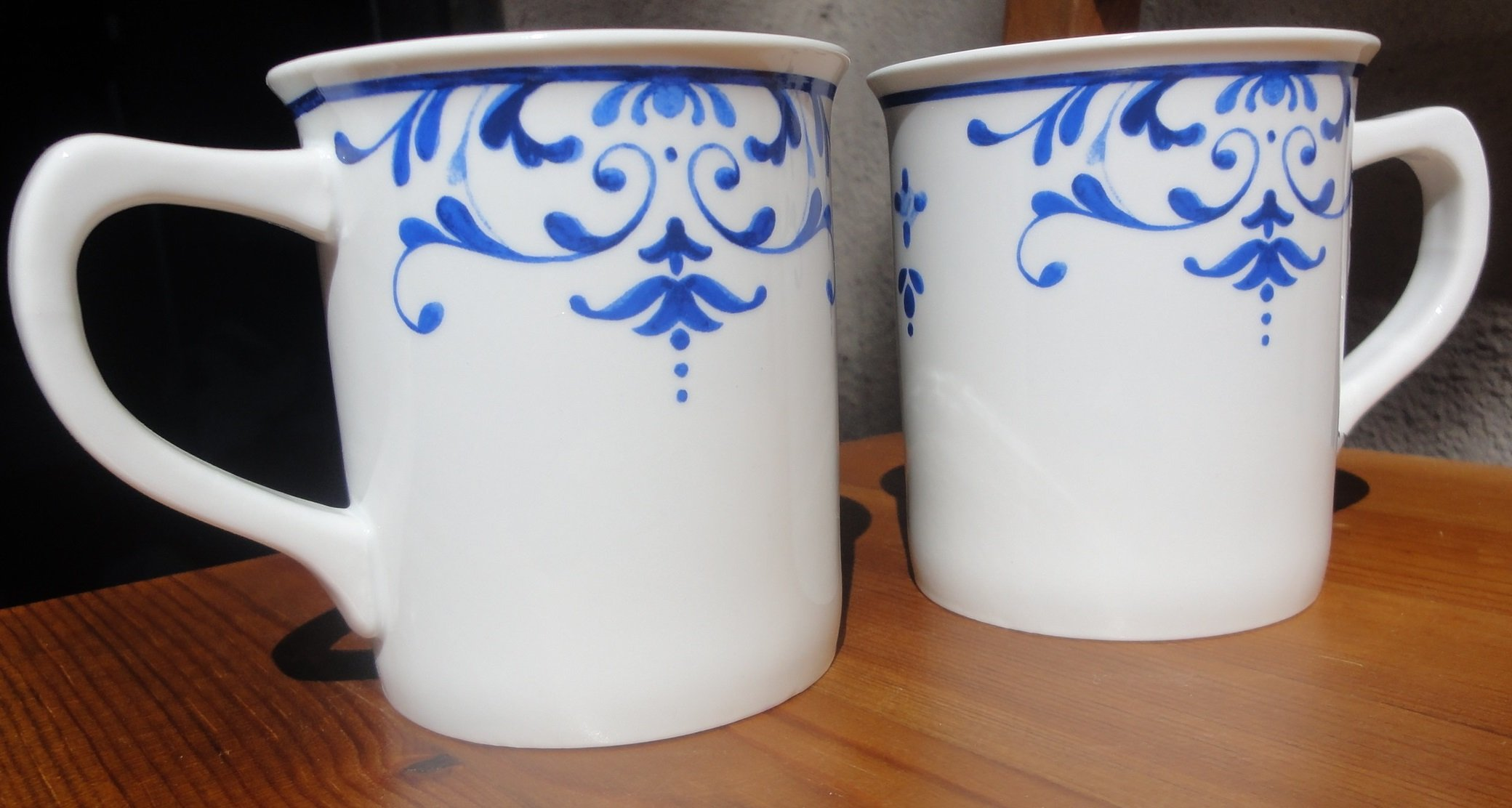 Set of 2 Everyday White by Fitz and Floyd Infusion Mug