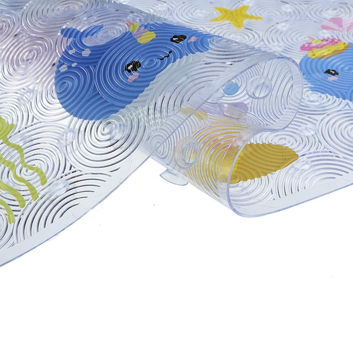 40x60 cm dise/ño de Pavo Real con patr/ón de c/írculos de Bullseye en Verde S,Alfombra Ba/ño//Habitaci/ón Microfibra Antideslizante Pluma Alfrombrillas Yaoni Alfombrilla Antideslizante para el ba/ño