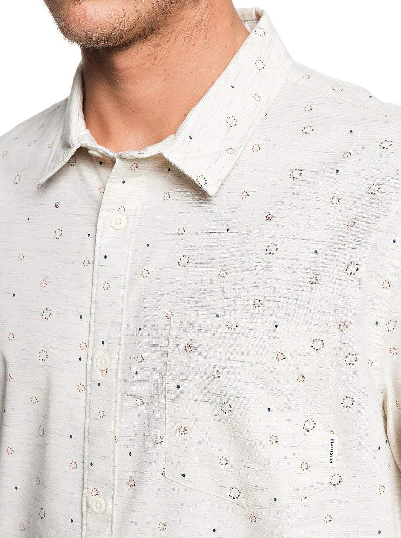 Quiksilver - Camisa de Manga Corta para Hombre: Amazon.es: Ropa y ...