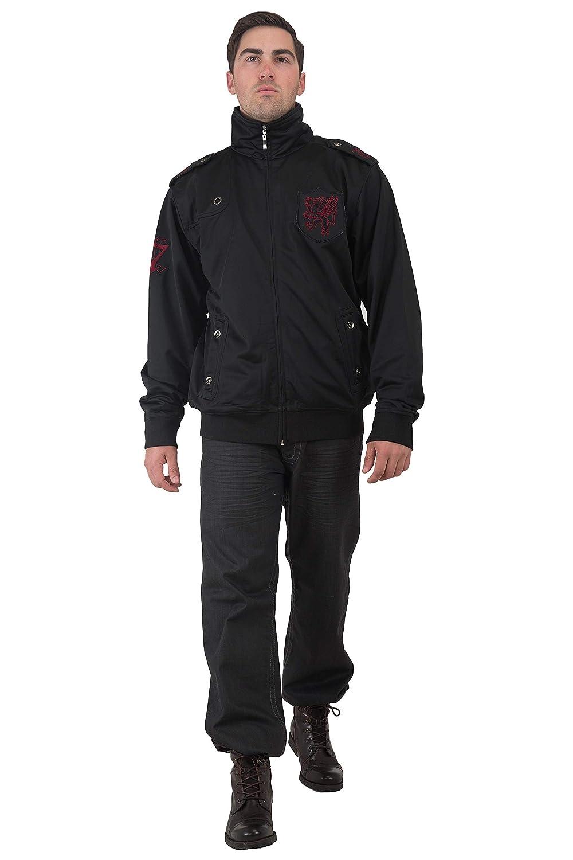 Level 7 Mens Black Coated Denim Relax Boot Cut Flap Pocket Jeans Wrinkle wash
