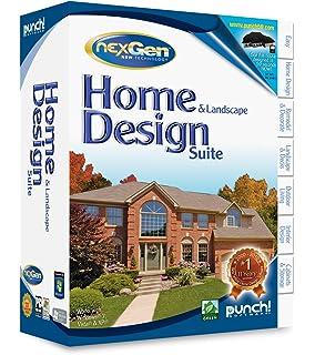 Punch! Home U0026 Landscape Design Suite With NexGen Technology   Old Version
