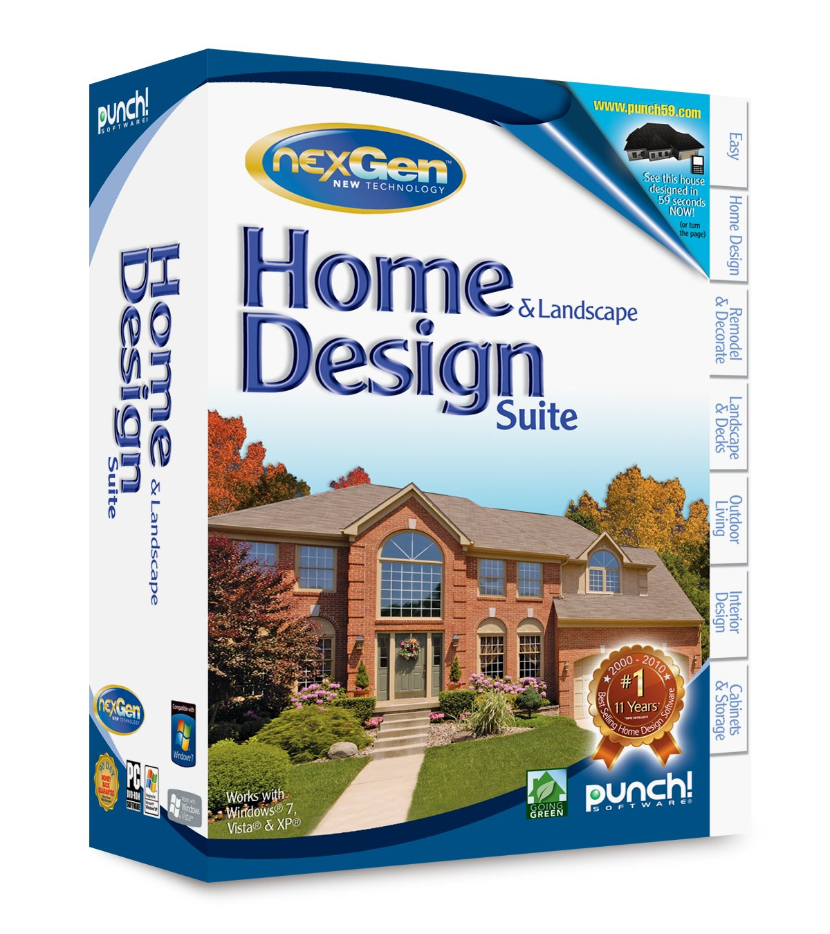 Punch nexgen home and landscape design premium home for Punch home landscape design 17 5 trial