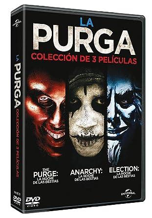La Purga La Noche De Las Bestias Trilogia The Purge Purge Anarchy Purge Election Year Non Usa Format Pal Import Spain Cine Y Tv