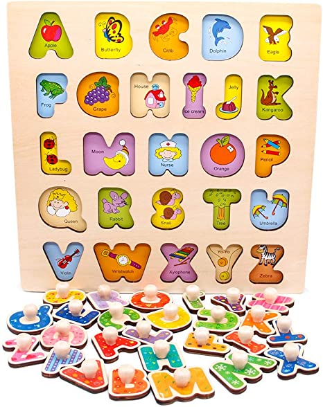 Nuheby Juguetes Montessori Puzzles Infantiles 3 4 5 6 Anos ...