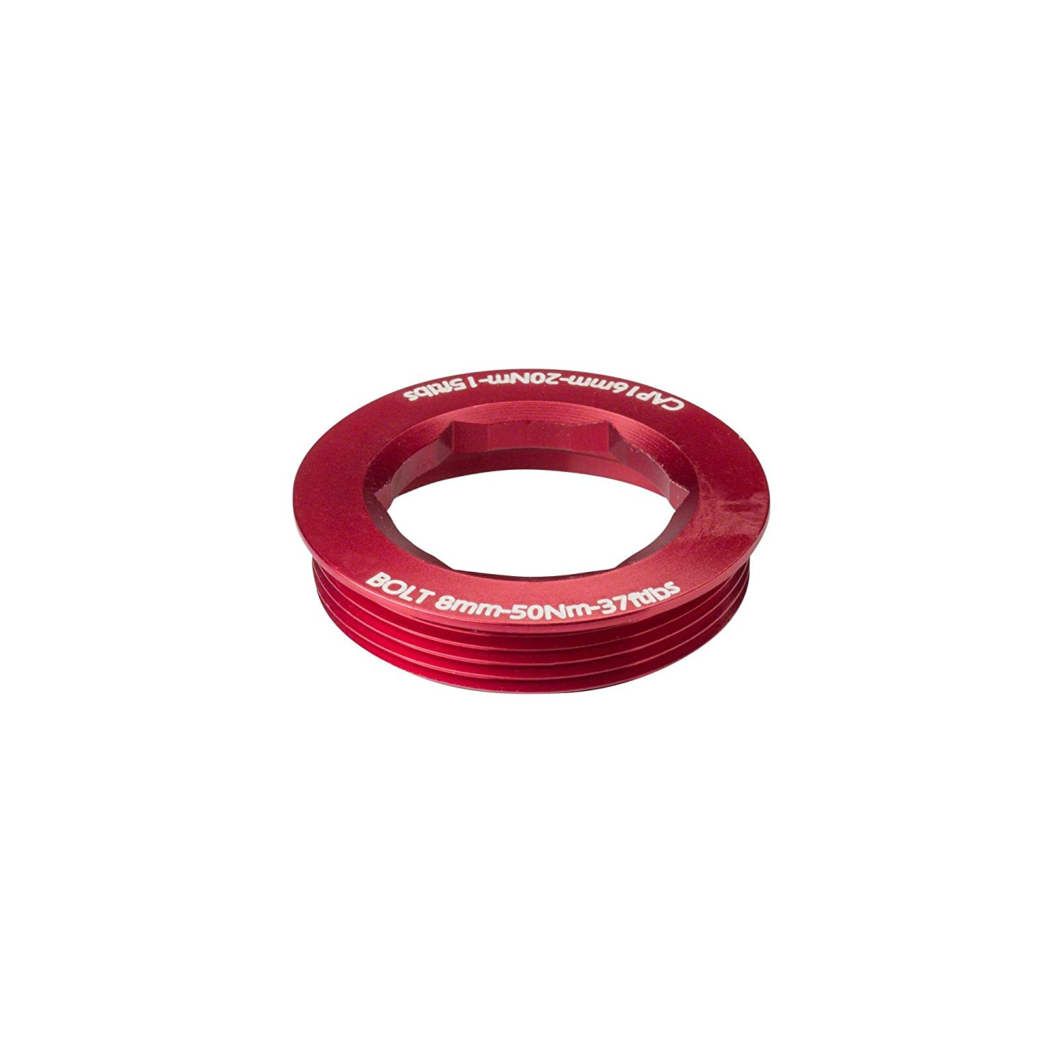 RaceFace CINCH Bolt with Washer 18mm XC//AM Red
