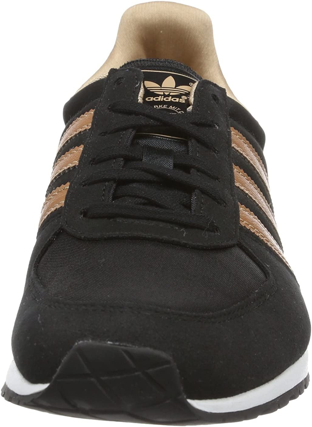 ladies black and rose gold trainers off 55% - www.usushimd.com