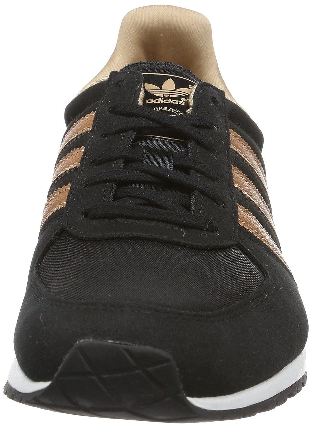 996a7b4ab0e adidas Originals Womens Adistar Racer W-3 Trainers D65483 Black Rose Gold  Metal Rose Gold Metal 3.5 UK