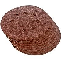 Silverline 647920 - Discos de lija perforados