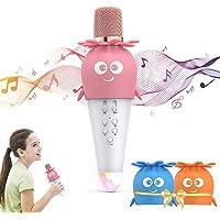 ULTRA INFINITY Wireless Bluetooth Karaoke Microphone, Portable Handheld Karaoke Machine Speaker with Controllable LED…