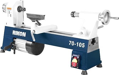 RIKON Power Tools 70-105 10 x 18 1 2 hp Mini Lathe