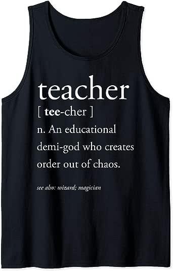 Amazon.com: Teacher Definition Shirt Educational Demi-God