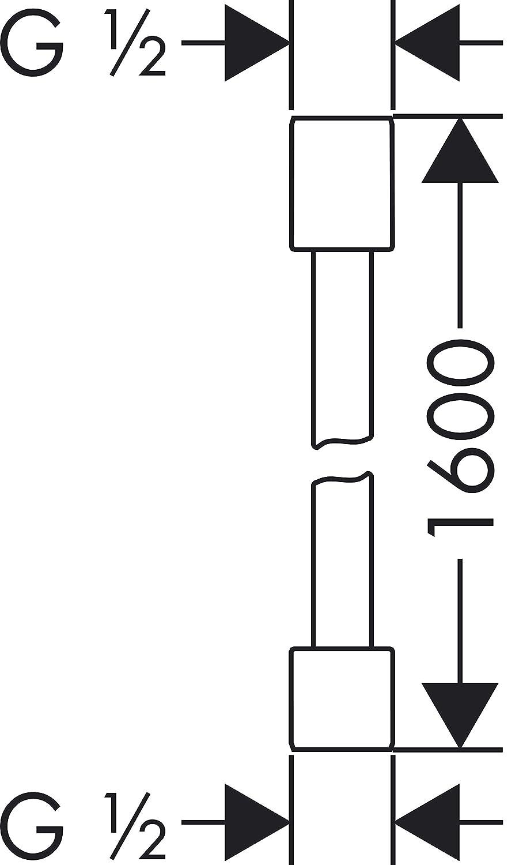 AXOR Starck Brauseschlauch 1,60m chrom