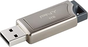 PNY (P-FD1TBPRO-GE) Pro Elite 1TB USB 3.0 Flash Drive, Read Speeds Up to 400MB/S
