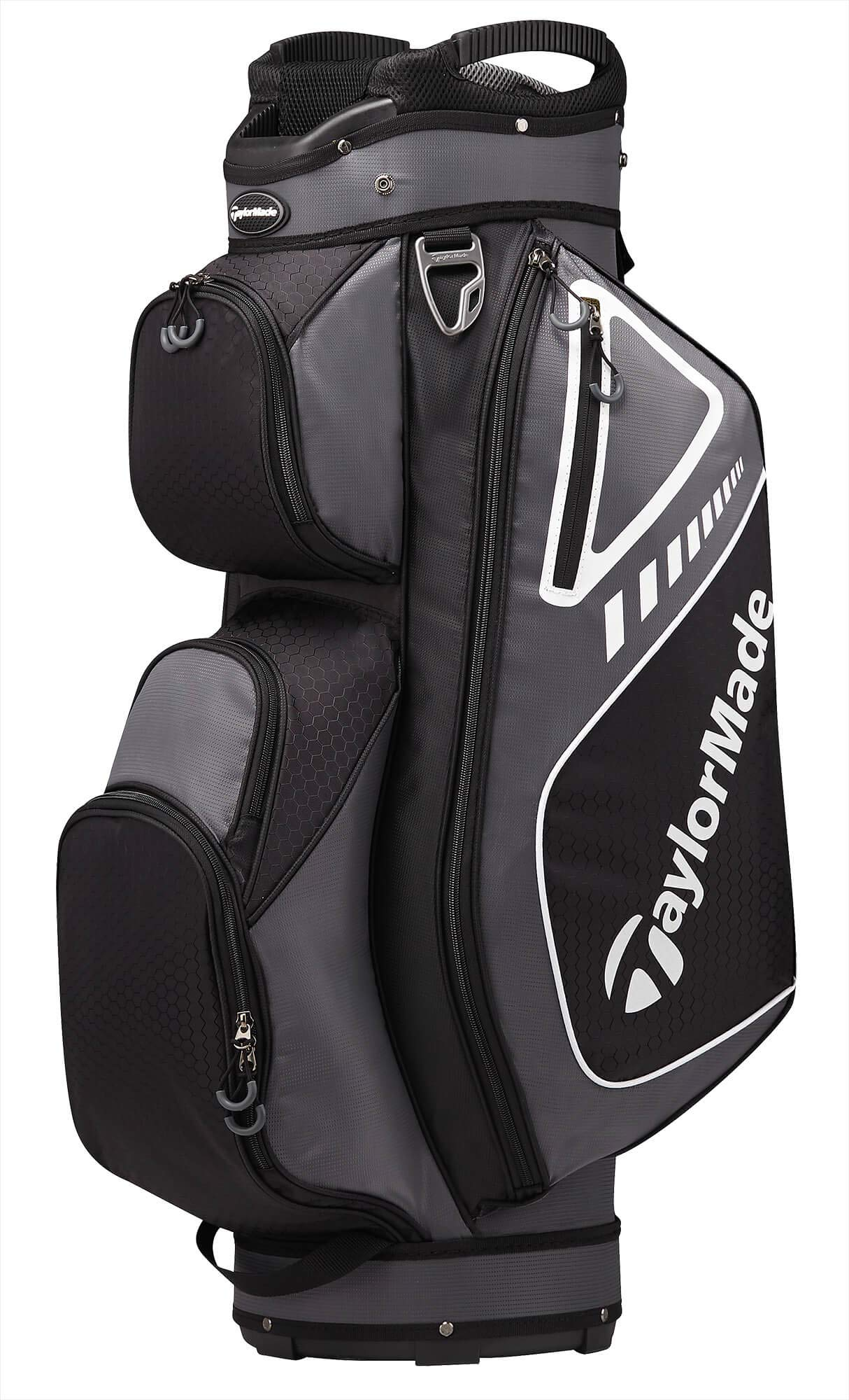 TaylorMade 2019 Golf Select Cart Bag, Gray/Black by TaylorMade