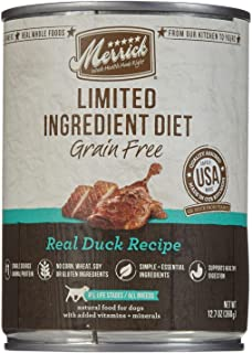 product image for Merrick Limited Ingredient Diet - Real Duck Recipe - 12.7 Oz - 12 Ct