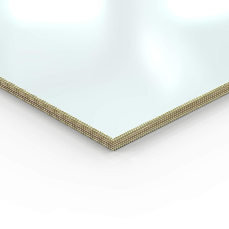 30x70 cm 18mm Multiplex Zuschnitt wei/ß melaminbeschichtet L/änge bis 200cm Multiplexplatten Zuschnitte Auswahl