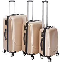 3 Pieces Set Luggages with 4 spinner wheels - 20 x 24 x 28 inch