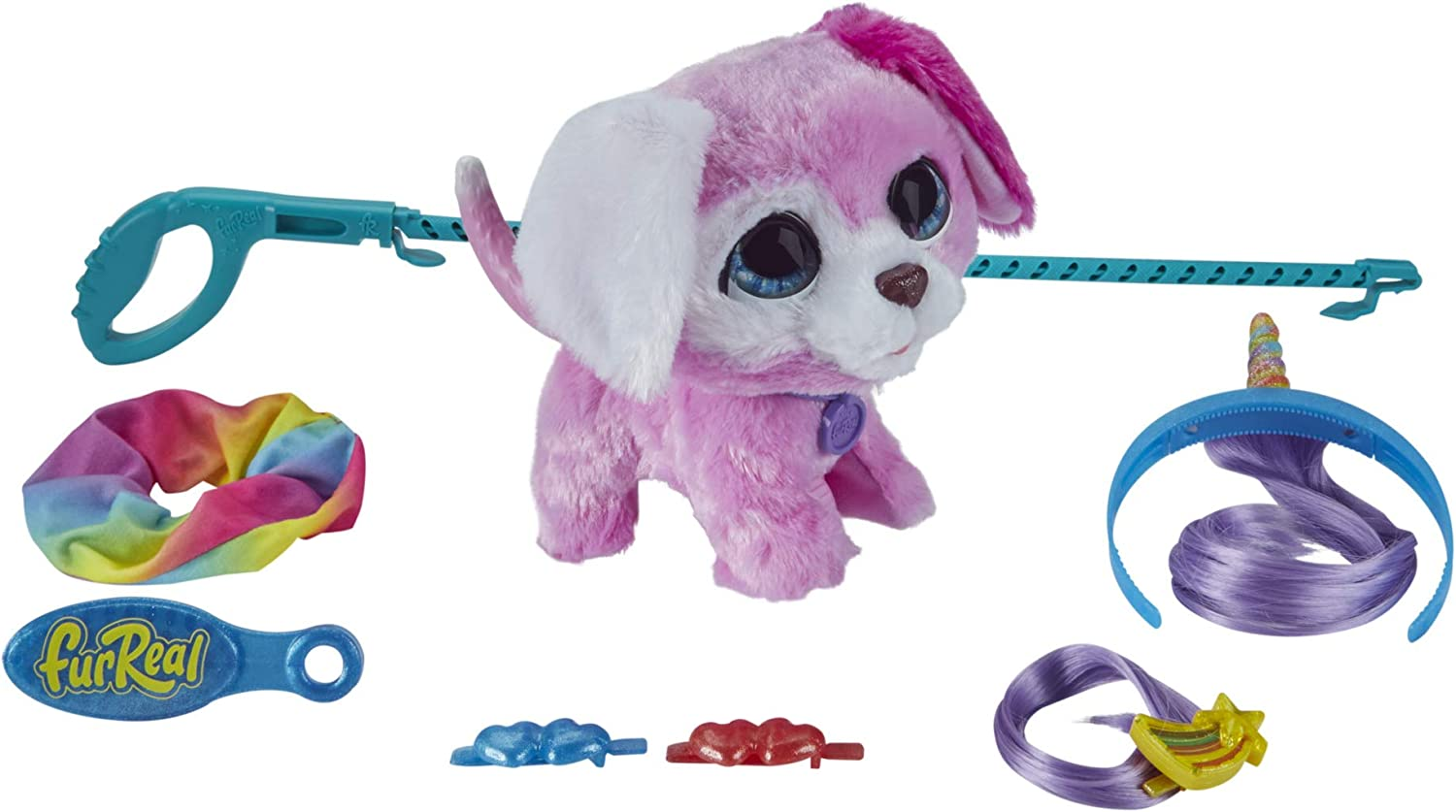 FurReal Glamalots Interactive Pet Toy, 7 Accessories, Ages 4 and Up