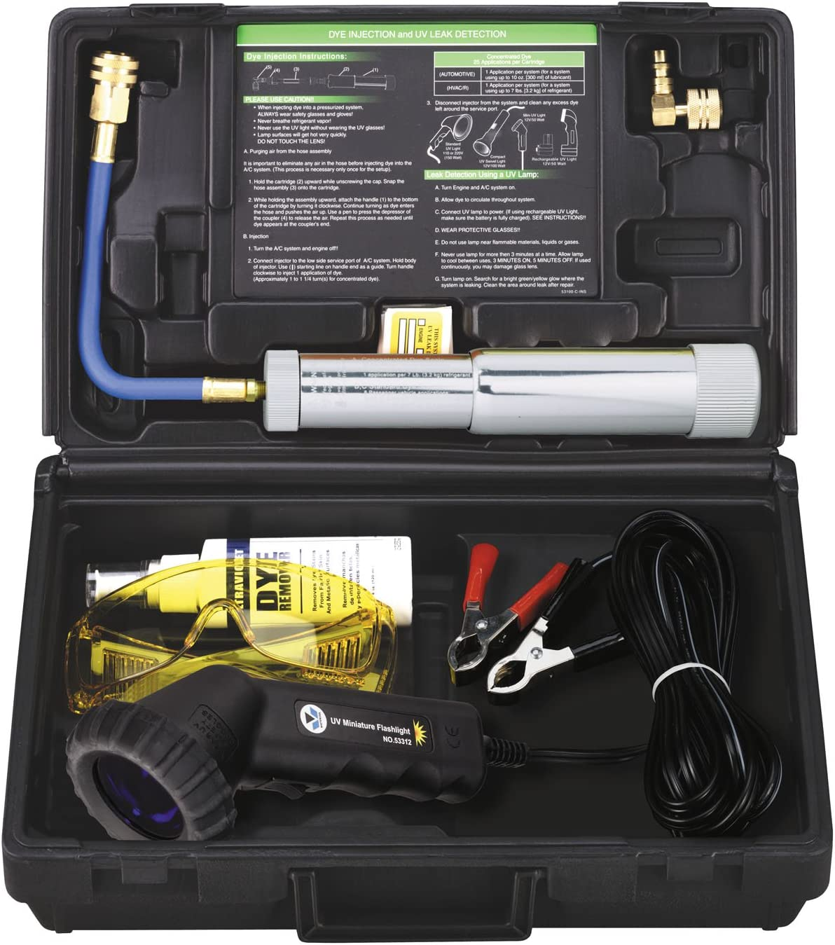 Mastercool 53351 Professional Uv Leak Detection Kit