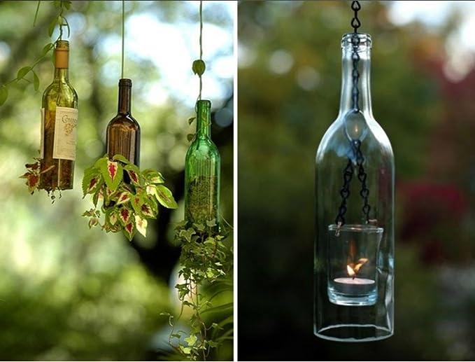 Cortador de Botellas Duradera de cristal de la máquina de corte de la botella de cerveza del vino fácil de crear arte funcional, ideal para hacer regalos ...