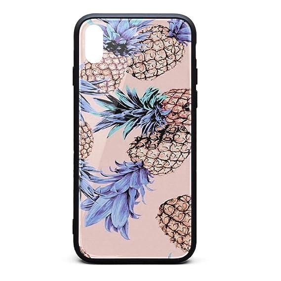 best website 71c7c 25475 Amazon.com: Custom Phone Case for iPhone Xs MAX Pineapple f Rubber ...