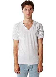 b7e042055ea Amazon.com  American Apparel Men s Unisex Fine Jersey Short-Sleeve T ...