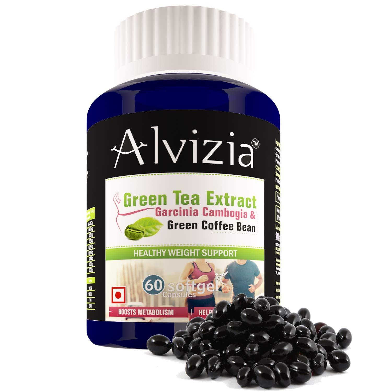 Alvizia S Pure Garcinia Cambogia Extract Hca Green Tea Extract