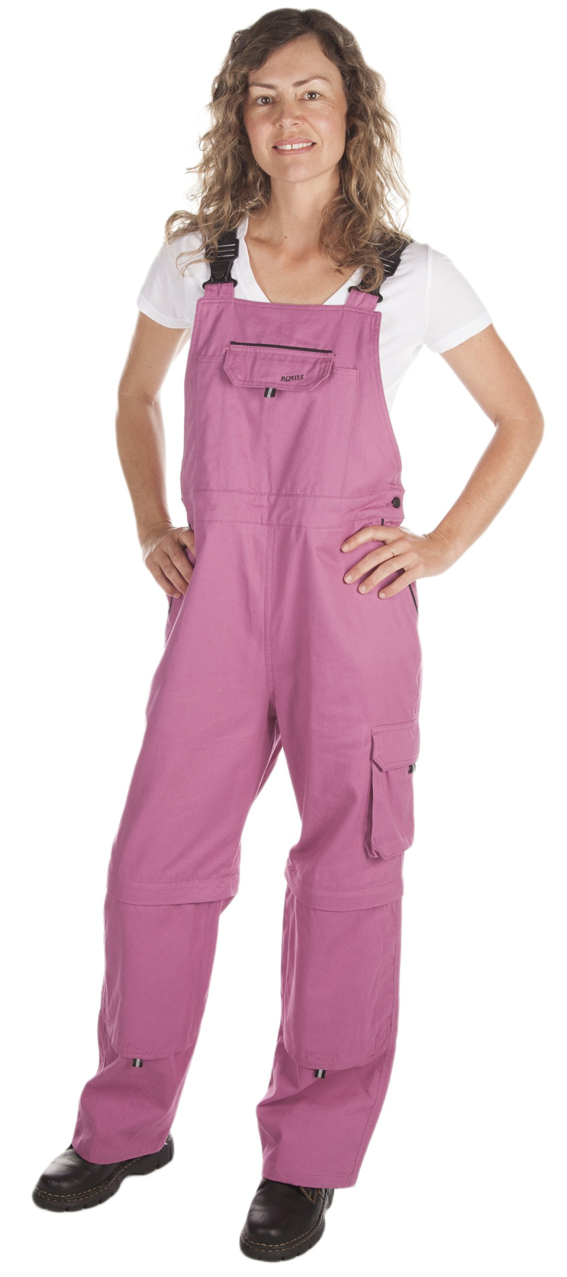 Rosies Work Wear Overalls for Women| Work & Gardening Cotton Bib Overalls (Knee Pads are NOT Included)