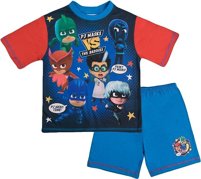 PJ MASKS Short Pyjamas Pjs Blue