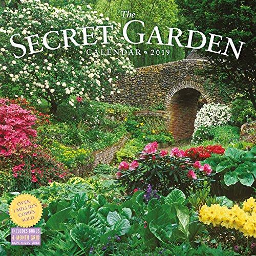 Garden Calendar - Secret Garden Wall Calendar 2019
