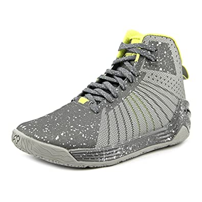 f5709aa2fe4 Tesh Trooper Men s Leather High Top Basketball Athletic Shoes Silver Size 9