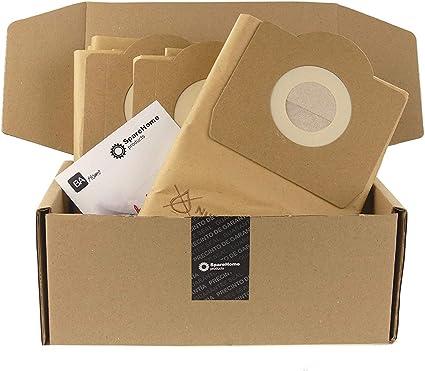 MV 3 8 Sacchetti Accessorio per Karcher Aspiratori Wd+Ad Sacchetti Filtro In Carta per Karcher WD 3