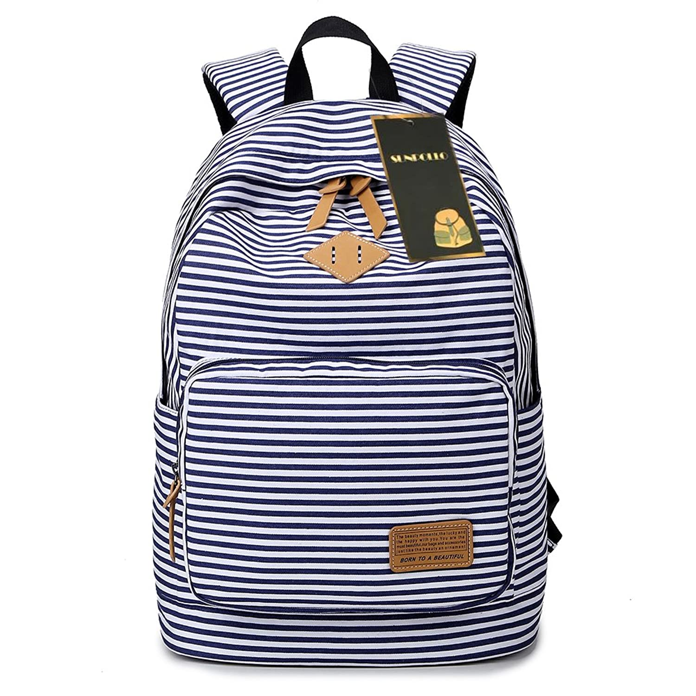 sunpollo backpack casual travel book bag cute teen