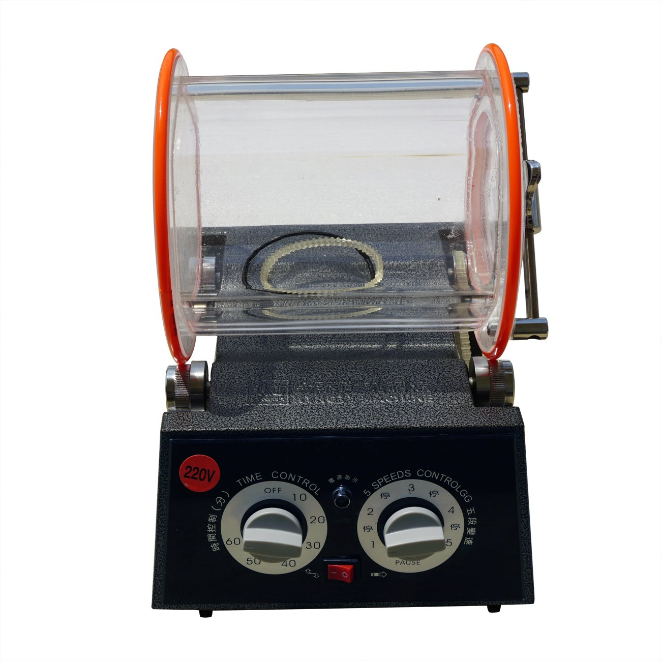 5Kg Rotary Tumbler Surface Polisher Jewelry Rock Polishing Finishing Machine by Fisters (Image #1)