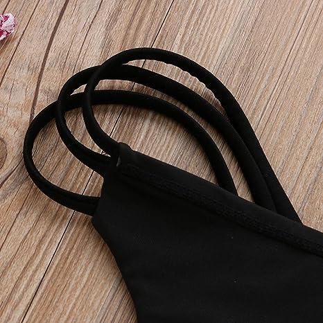 PAOLIAN Braguita Tanga Bikini sexy Heuco Mujer Bottom Bañarse Playa Ropa interior Verano 2018 Ropa de Playa Ropa de Baño Cintura Alta braguita Ropa de ...