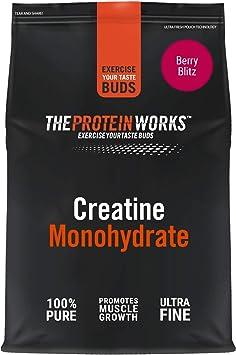 Monohidrato de Creatina en Polvo | 100% Puro y Fino | Suplemente de Gran Calidad Para el Crecimiento Magro Muscular | Vegano | THE PROTEIN WORKS | ...