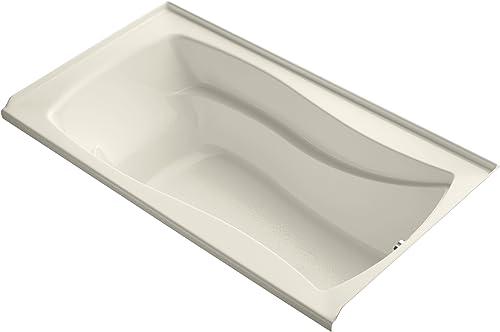 KOHLER K-1229-R-47 Mariposa 66-Inch X 36-Inch Alcove Bath