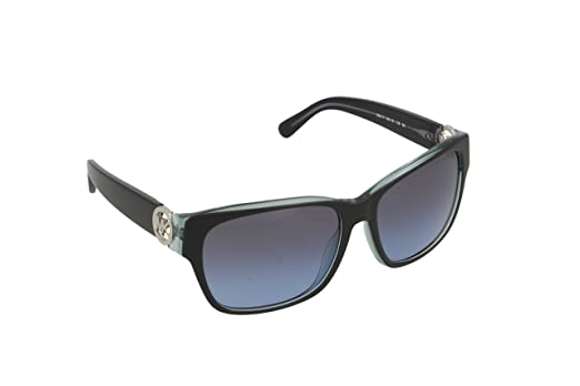 Michael Kors Women MK6003 SALZBURG 300117 Black Plastic Square Sunglasses