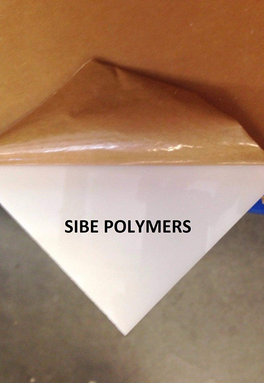 Acrylic PLEXIGLASS Translucent White Plastic Sheet 1//8 X 6 X 12